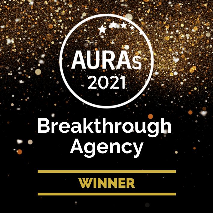 Breakthrough Agency Winner